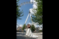 London Eye Wedding Photography